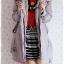 ((ขายแล้วครับ))ca-2830 เสื้อโค้ทกันหนาวผ้าร่มสีเทา รอบอก41 thumbnail 3