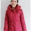 ((ขายแล้วครับ))((จองแล้วครับ))ca-2802 เสื้อโค้ทขนเป็ดสีแดง รอบอก38 thumbnail 1