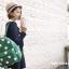 กระเป๋าเป้ยี่ห้อ Super Lover มินิ Retro Polka Dot สไตล์ญี่ปุ่นป่า (Preorder) thumbnail 4