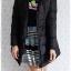 ((ขายแล้วครับ))((คุณJumจองครับ))ca-2798 เสื้อโค้ทขนเป็ดสีดำ รอบอก36 thumbnail 3