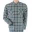 Topman Green Checked Shirt Size L thumbnail 1