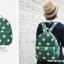 กระเป๋าเป้ยี่ห้อ Super Lover มินิ Retro Polka Dot สไตล์ญี่ปุ่นป่า (Preorder) thumbnail 3
