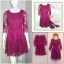 Warehouse pink Dress uk12 thumbnail 2