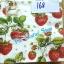 napkin ลายผลไม้สตอเบอรี่ (รหัสสินค้า NA-168) thumbnail 1