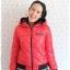 ((ขายแล้วครับ))((จองแล้วครับ))ca-2726 เสื้อแจ๊คเก็ตกันหนาวสีแดง รอบอก38 thumbnail 1