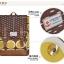 กระเป๋าเป้ยี่ห้อ Super Lover สไตล์เกาหลีใต้ ลายไข่วงกลมสีเหลือง มีช่องใส่โน้ตบุ๊ค (Preorder) thumbnail 12