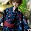 MSD Yukata Set - Midsummer Dragonfly (Aiiro) thumbnail 5