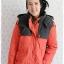 ((ขายแล้วครับ))((จองแล้วครับ))ca-2907 เสื้อโค้ทขนเป็ดสีแสด รอบอก42 thumbnail 1