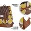 กระเป๋าเป้ยี่ห้อ Super Lover สไตล์เกาหลีใต้ ลายไข่วงกลมสีเหลือง มีช่องใส่โน้ตบุ๊ค (Preorder) thumbnail 14