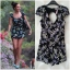 Lipsy black Playsuit Size Uk8 thumbnail 1