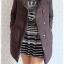 ((ขายแล้วครับ))((คุณnatcharatจองครับ))ca-2756 เสื้อโค้ทขนเป็ดสีดำ รอบอก39 thumbnail 3