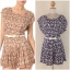 Yumi Playsuit Floral with Belt Size uk10 thumbnail 1