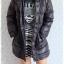 ((ขายแล้วครับ))((คุณPorจองครับ))ca-2750 เสื้อโค้ทขนเป็ดสีดำ รอบอก38 thumbnail 3
